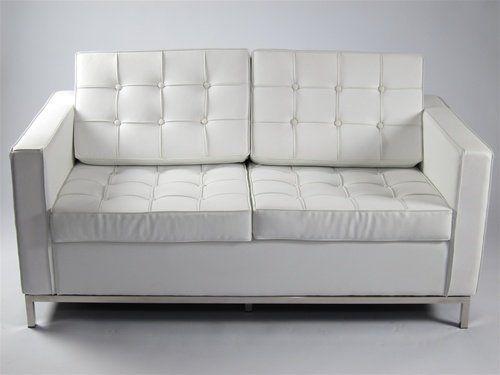 VIG Furniture VGYIT136C WHT Divani Casa T136C Modern Leather Sectional