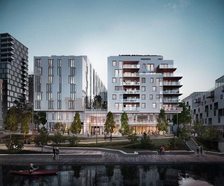 FINN – Operagata 20 - Bjørvika - 54 leiligheter med Den Norske Opera & Ballett og Munch Museet som nærmeste naboer
