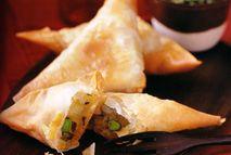 Vegetable samosas and hara chutney – Recipes – Slimming World