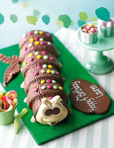 Giant Colin the Caterpillar Cake Cakes