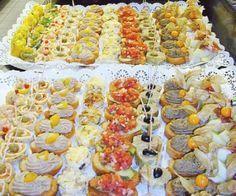 Canapes Frios Te enseñamos a cocinar recetas fáciles cómo la receta de Canapes Frios y muchas otras recetas de cocina..