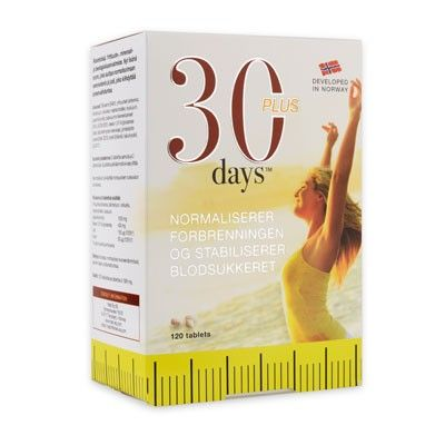 30 Days Plus fra Almea. Om denne nettbutikken: http://nettbutikknytt.no/almea-no/