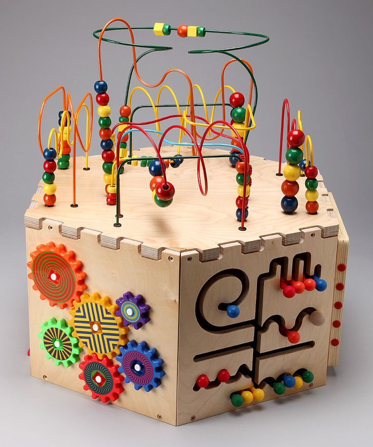 Wooden Bead Maze Play Cube by Anatex on #zulily-Aston would LOVE this!!