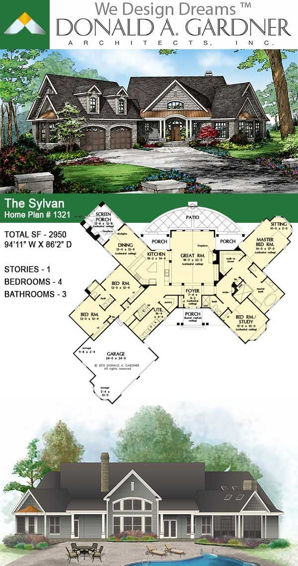 House Plan The Sylvan Home Plan Affordable House Plans Large House Plans Sims House Plans