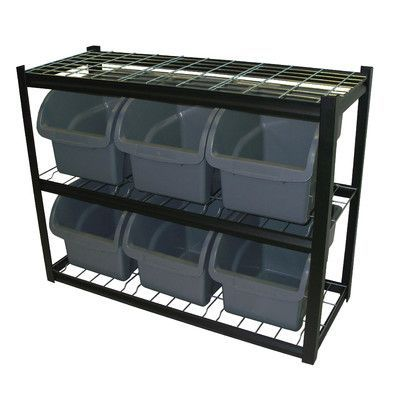 "Sandusky 33"" H 2 Shelf Shelving Unit Starter"
