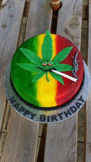 30 Best Marijuana Cakes Images On Pinterest Anniversary