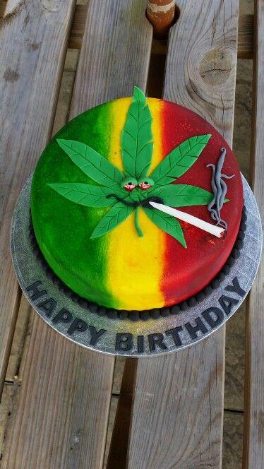 Ganja cake