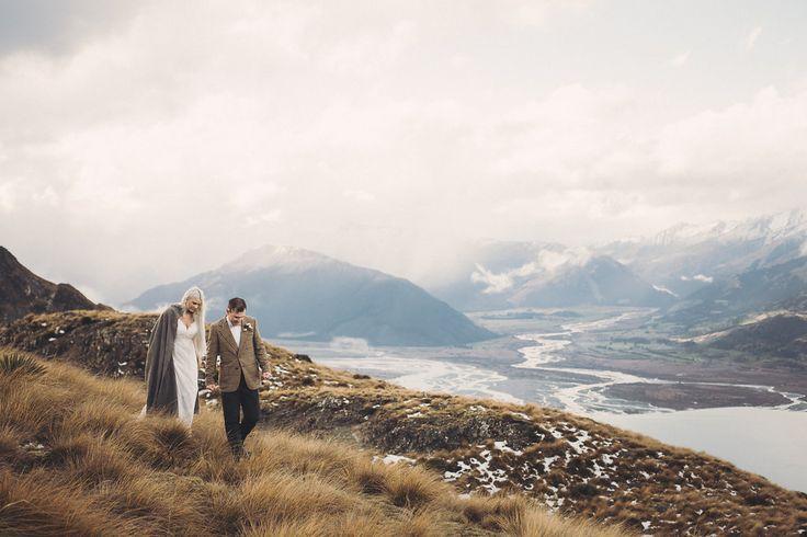Jamie-Lee   Kyle: Romantic Honeymoon Shoot in the Mountains