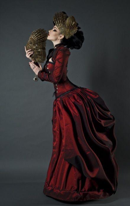 Gothic Victorian Dresses: Victorian Corset Dress
