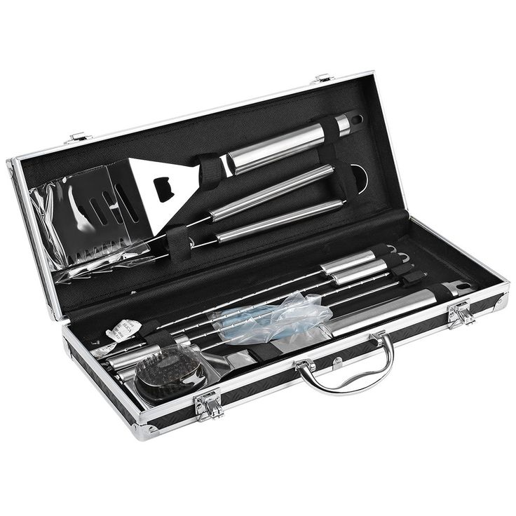 8pcs Barbecue Stainless Steel Set