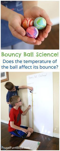 bouncy ball experiment essay This experiment answers the age-old question, which came first, the rubber egg or the rubber chicken it's easy to make a rubber, or naked, egg if you understand the chemistry of removing the hard eggshell.