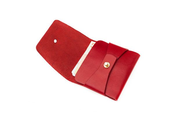 CleanEverything — Stitchless Wallet – Red