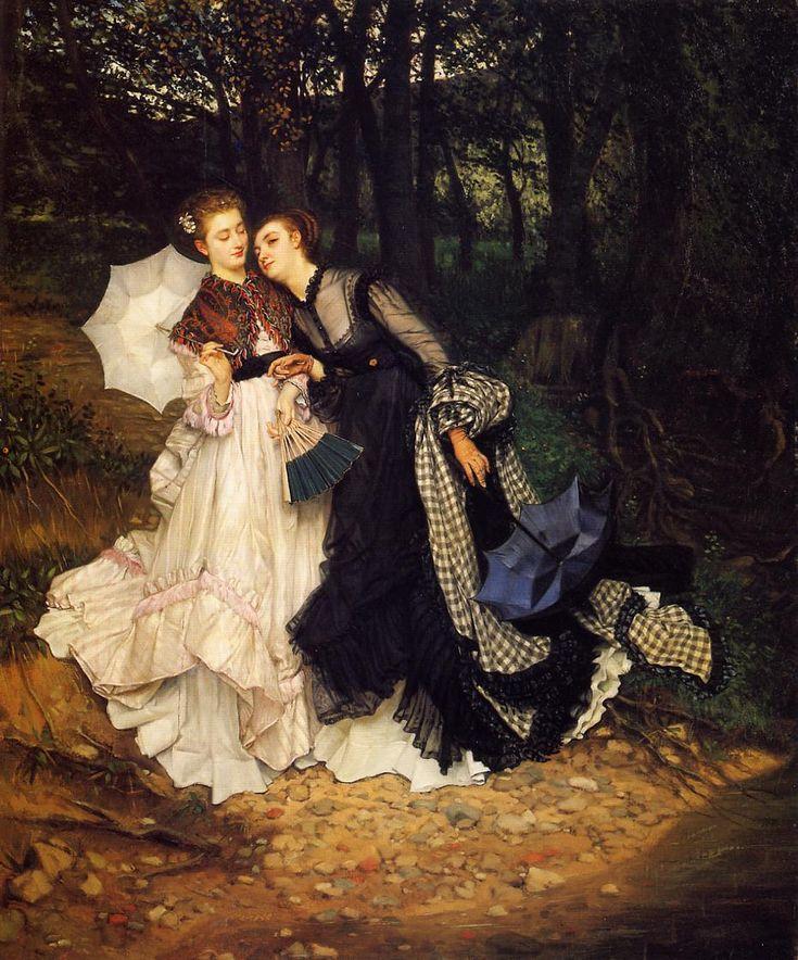 James Tissot  - Page 3 F29d360560ca3b3b12d2b46a74db26b7--beautiful-paintings-james-darcy