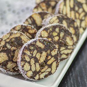 Retete de prajituri pentru Craciun si Revelion - salam de biscuiti si alte retete