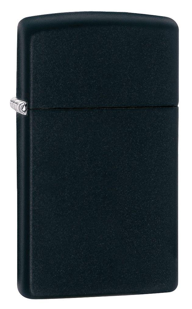 Zippo Slim Black Matte Lighter