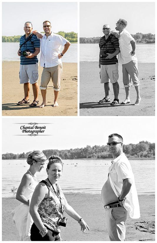 This is what happened behind the scene of a Trash The Dress at Mooney's Bay with Sam & Sean
