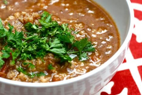 Kharcho, a hearty and savory meat and tomato soup that almost qualifies as a stew, is a perfect example of a dish that is celebrated far beyond the borders of its native Georgia.