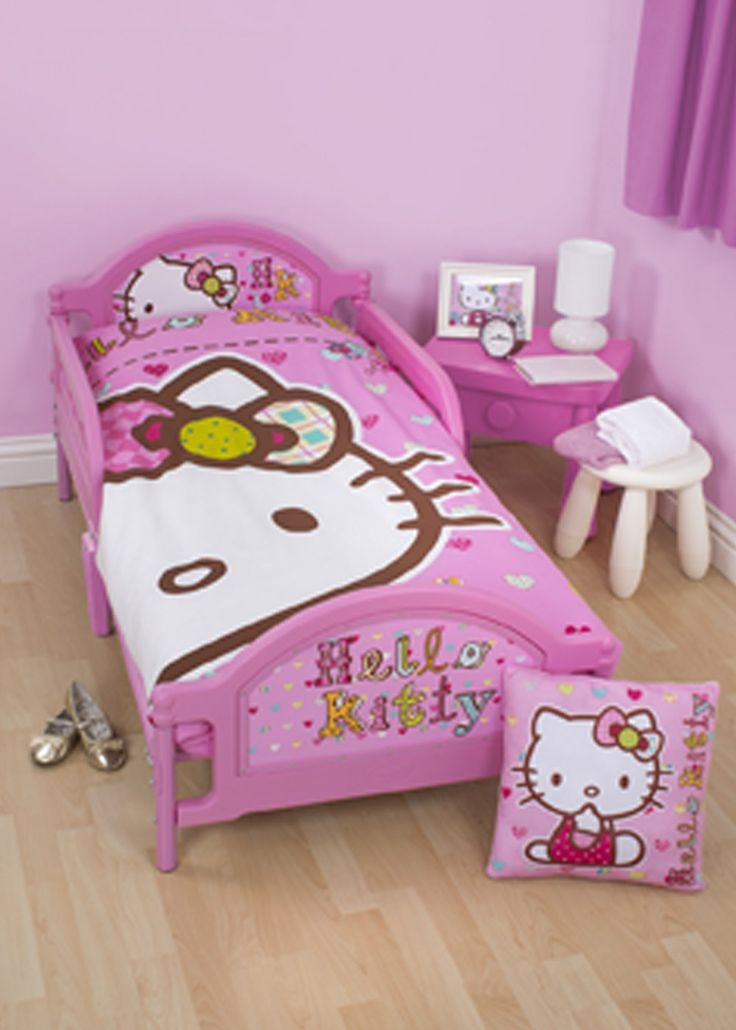 gallery for hello kitty toddler bed set