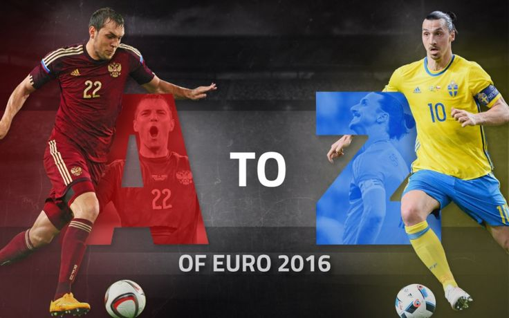 Artem Dzyuba to Zlatan Ibrahimovic: The A-Z Stats Guide to Euro 2016 | OulalaGames