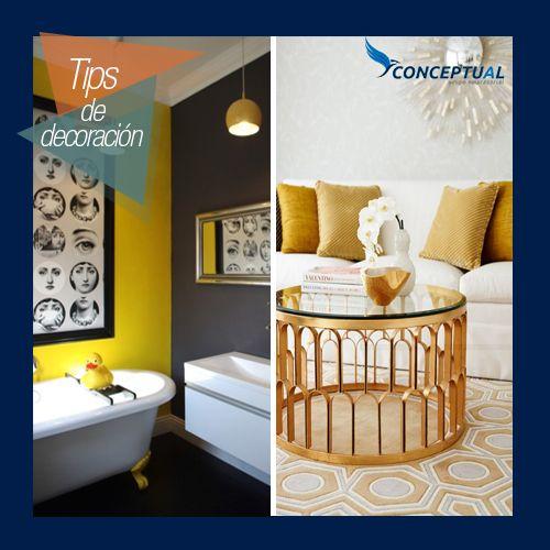 Un toque de color siempre es importante a la hora de elegir elementos para decoración de tus espacios. El amarillo es uno que refleja energía y armonía en el hogar.