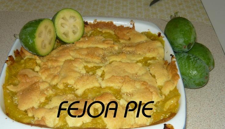 Fejoa Pie
