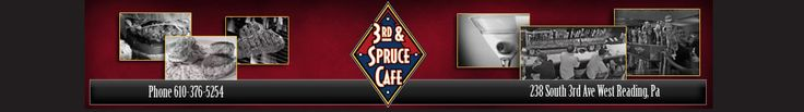 3rd & Spruce Cafe - great food and a great family bar and restaurant in Reading PA