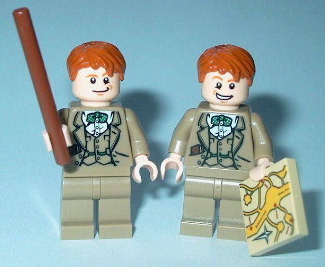 HARRY POTTER #66C Lego Fred & George Weasley Custom Magic (Genuine Lego parts)  | Toys & Hobbies, Building Toys, LEGO | eBay!