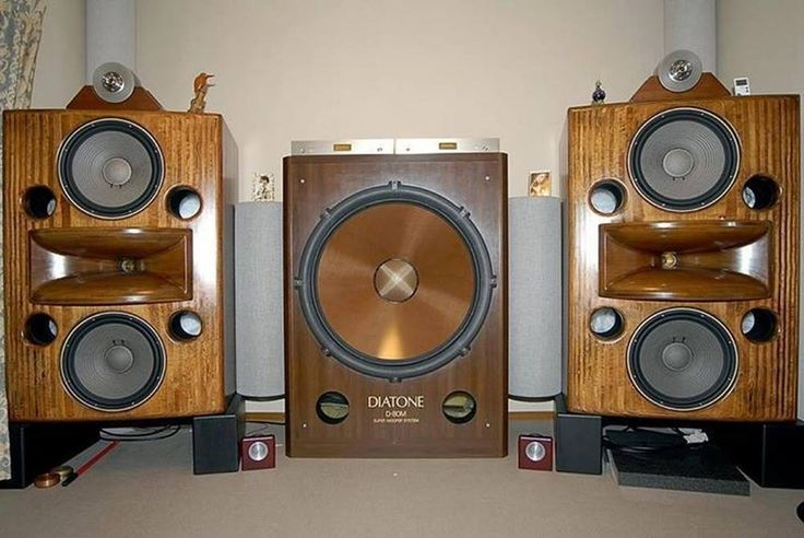 DIATONE  VINTAGE SPEAKERS  Hifi audio Audio speakers ve
