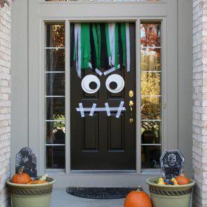 Decoration De Porte Halloween