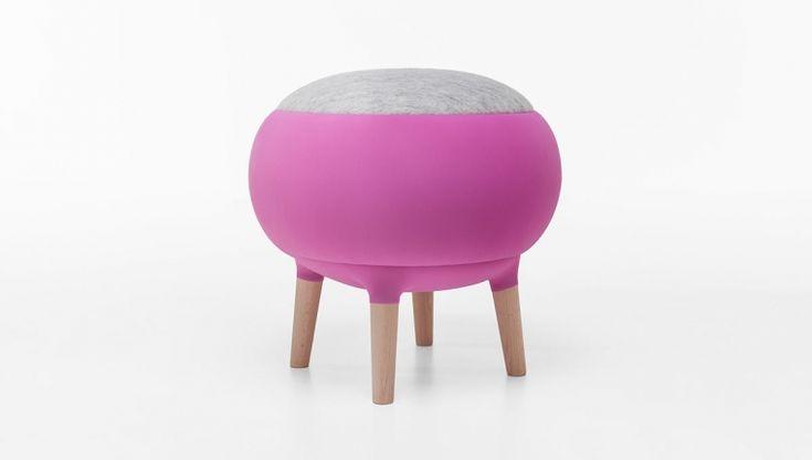 Cora / pouf / design Manrico Freda / Formabilio