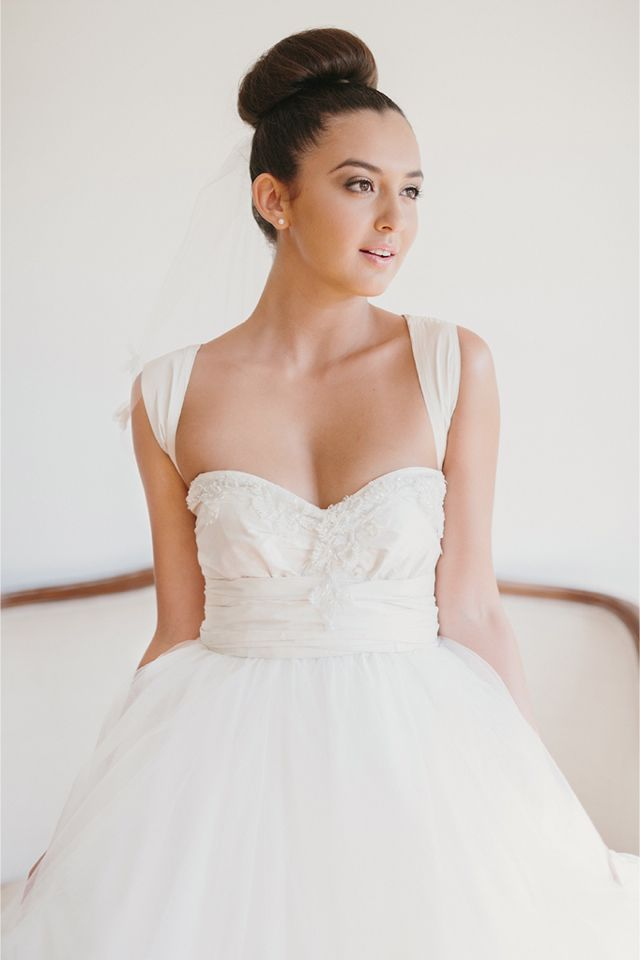 ballerina style wedding dress / Anthony Hoang Photography