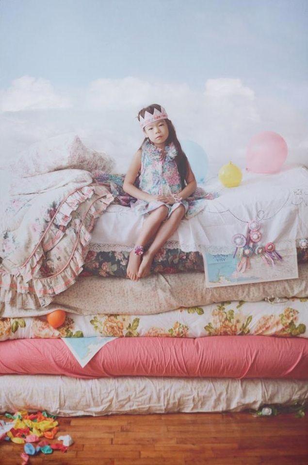 Принцесса на горошине.,Идея для фотосессии.