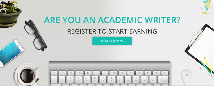 Are you an academic writer? Register to Start Earning.