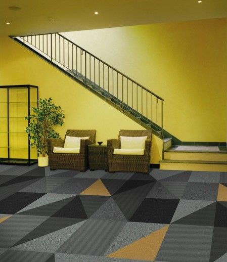 Interface Carpet Tiles In Zesty Mono Palette Collections