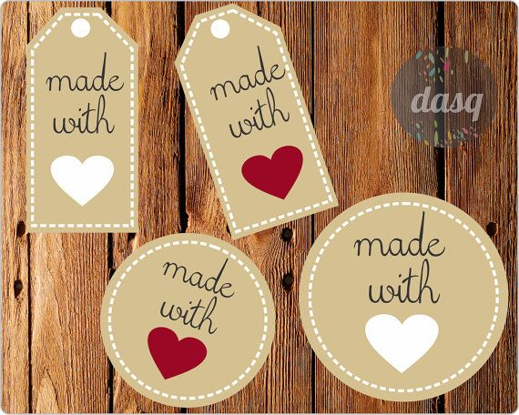 Hey, I found this really awesome Etsy listing at https://www.etsy.com/es/listing/179711418/labels-tags-made-with-love