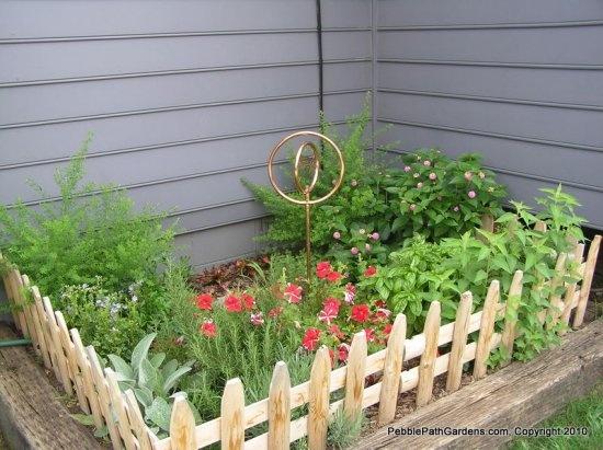 Cute Herb Garden Jardim Cercas 400 x 300