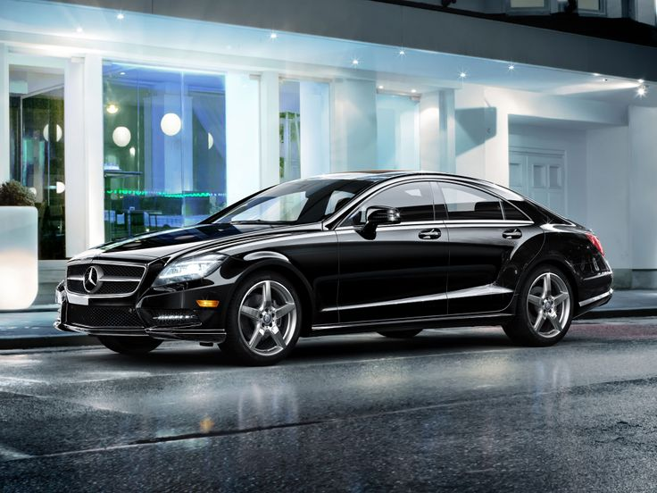 Mercedes benz cls550 in black with optional 19 inch amg for Mercedes benz cls 550 price