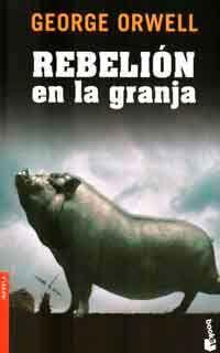 Rebelión en la granja (1945) es un cuento satírico de George Orwell acerca de un grupo de animales en una granja que expulsan a los humanos y crean un sistema de gobierno propio que acaba convirtiéndose en una tiranía brutal. La novela fue escrita durante la segunda guerra mundial y, aunque fue publicada en 1945, no comenzó a ser conocida por el público hasta finales de los años cincuenta. Rebelión en la granja constituye una crítica velada de la Revolución Rusa y una sátira sobre la…