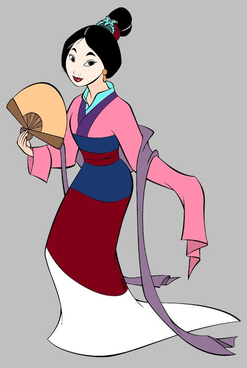 mulan pink dress pictures - 500×745