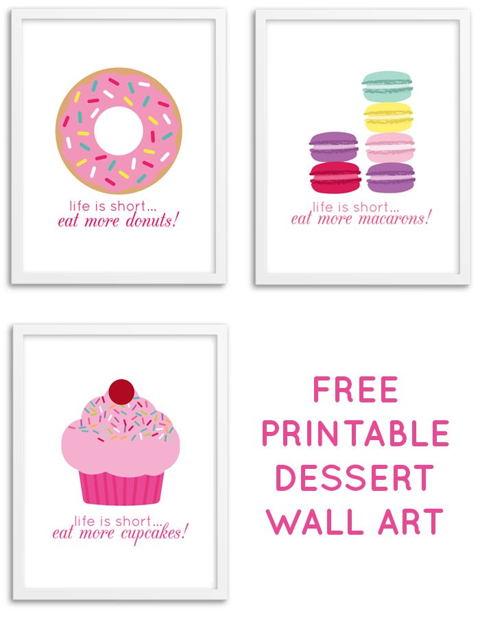 Interesting 40 cupcake wall art design decoration of for Cupcake wall art