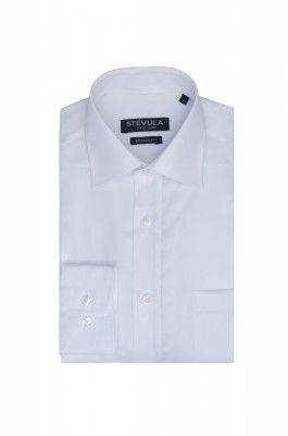 Snehobiela pánska košeľa