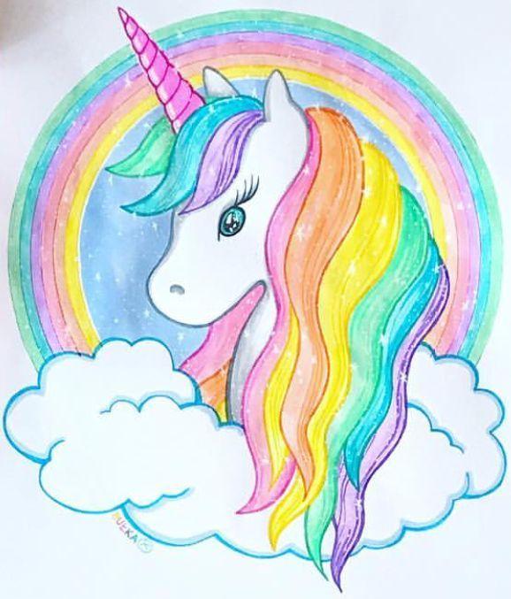 Unicorn Bulkarysuje Instagram My Blog Unicorn Painting Unicorn Drawing Rainbow Drawing