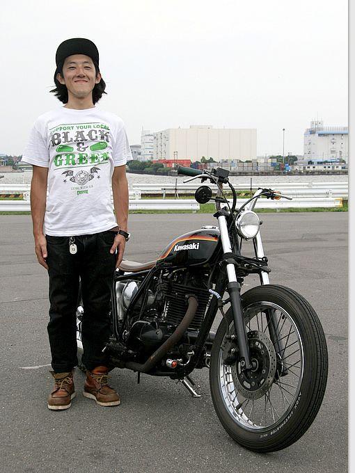 カワサキ 250TR ストリートスナップ 湯田 和希さん【STREET-RIDE】ストリートバイク ウェブマガジン