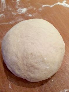 Masa para pizza casera - Receta