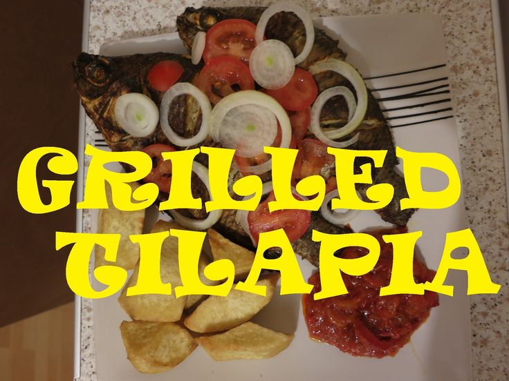 How to prepare Nigerian Grilled Tilapia Fish - Nigerian Food Recipes