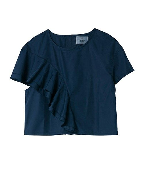 LAYMEE(レイミー)の「Fort flare tops(Tシャツ/カットソー)」|詳細画像