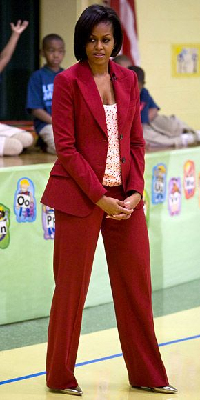 April 21st - Michelle Obama's 2010 Style Diary - Michelle Obama's Style - Fashion - InStyle.com