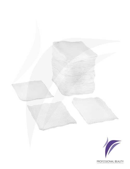 Gasa Precortada 4x4cm x100: Gasa tejida compuesta de 100% algodón. Tejido suave y poroso, no estéril.