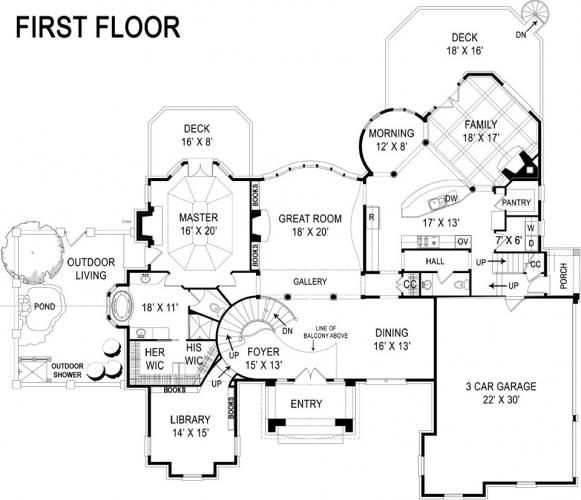 1000 Ideas About Castle House Plans On Pinterest