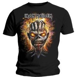 Tricou Iron Maiden: Eddie Exploding Head
